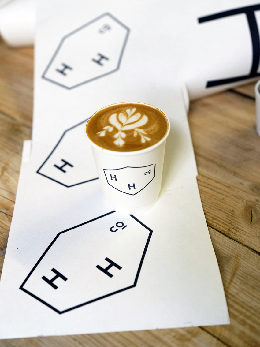 It's a Latte Throwdown with Hundred House Coffee