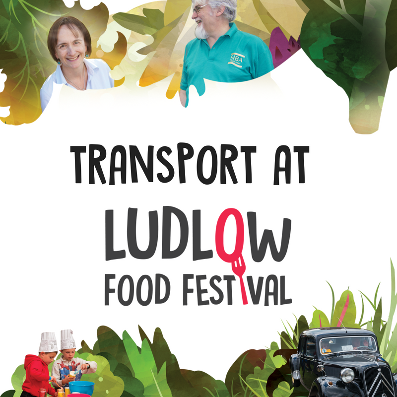 Transport & Parking at Ludlow Food