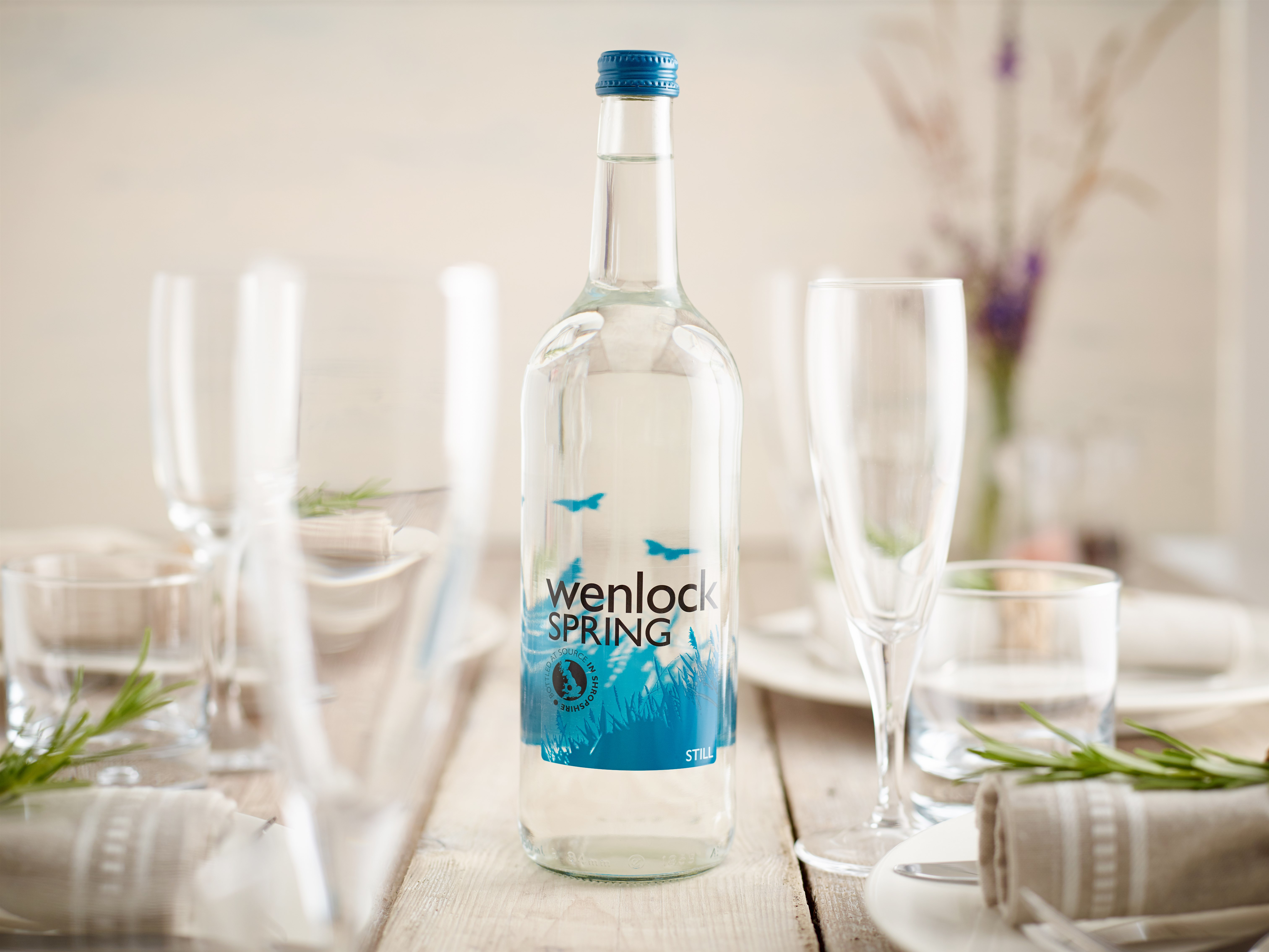 Wenlock Spring - British spring water with provenance, style and sustainability