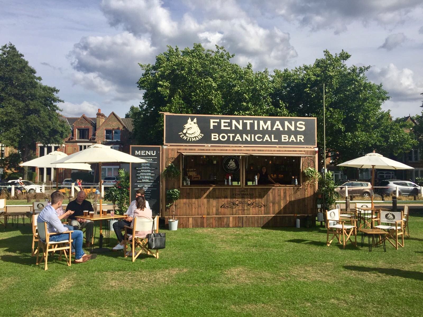 Celebrating Festival Sponsor, Fentimans