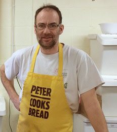 Peter Cooks Bread