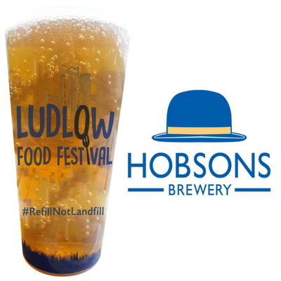Hobsons Reusable Plastic Cup