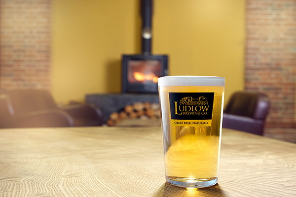 Ludlow Brewery Blonde
